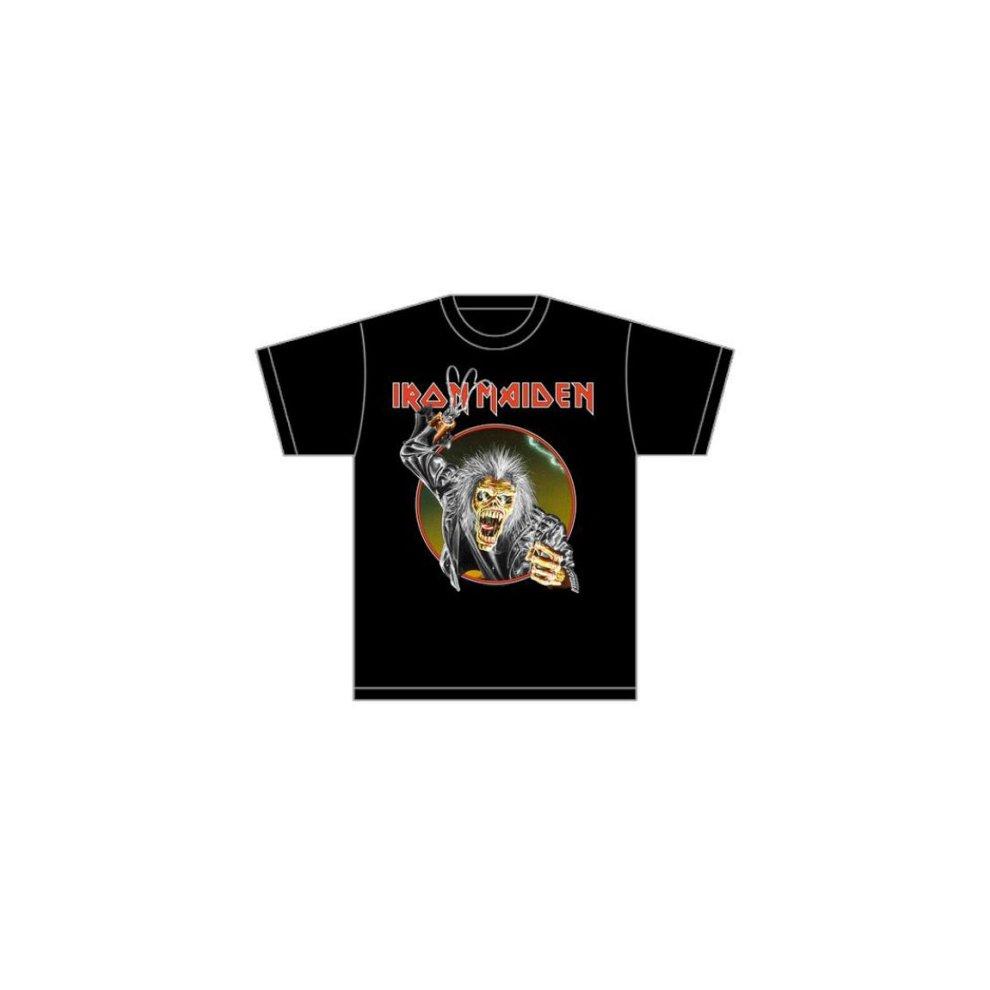 881b8e88 Rockoff Trade Men's Eddie Hook T-shirt, Black, X-large - iron maiden ...