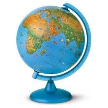 Mouse over image to zoom Have one to sell? Sell it yourself Details about  Nova Rico Kids Educational Toys 25cm Arca Illuminated Children's World Globe