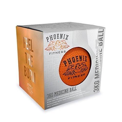 3kg Medicine Ball - Pheonix Fitness Weight Lifting Gym Orange New Boyztoys Ry929 -  3kg medicine ball pheonix fitness weight lifting gym orange new