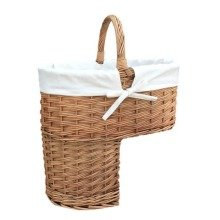 Double Steamed Stair Basket with White Lining