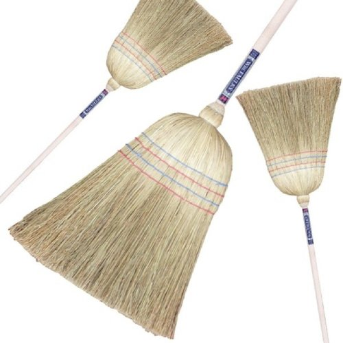 Traditional American Corn Sweeping (Witches) Broom Yard Brush