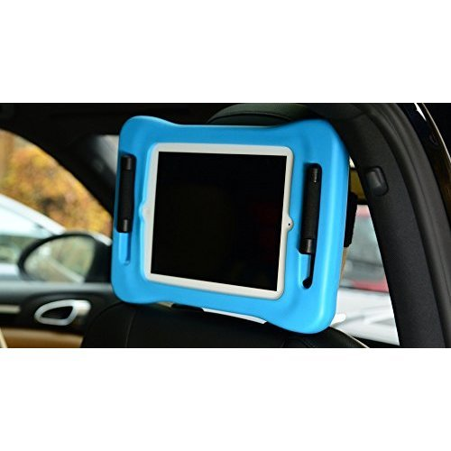 fatframe attach, car headrest mount holder, requires a fatframe case (sold separately), a simple way of attaching your iPad to your car headrest....