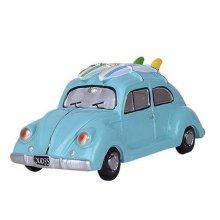 Children Piggy Bank Creative Coin Cans Money Box Gift, Blue Taxi