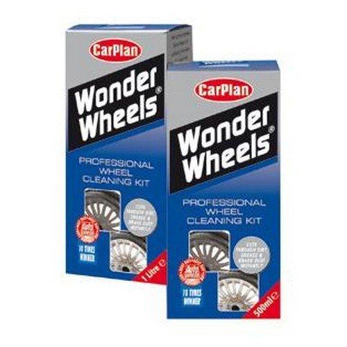 CarPlan WWK500 Wonder Wheels Super Alloy Wheel Cleaner 500ml