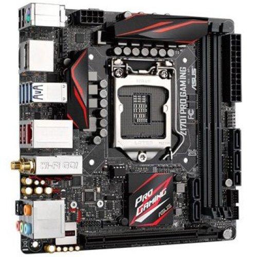 Asus Z170I PRO GAMING LGA1151 DDR4 GBLan SLi/Cfire iTX