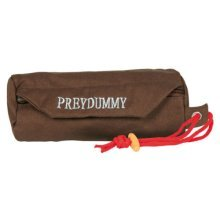 Dog Activity Preydummy, Ø 9 × 23 Cm, Brown - Toy Canvas Preydummy Training -  dog toy canvas preydummy training activity brown trixie hunting food