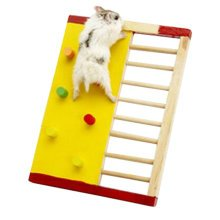 Cute Hamster Hideout Hut, Cute Wooden Bedding for Small Animals?V
