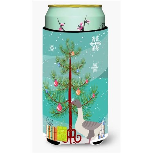 Carolines Treasures BB9268TBC Buff Grey Back Goose Christmas Tall Boys Beverage Insulator Hugger