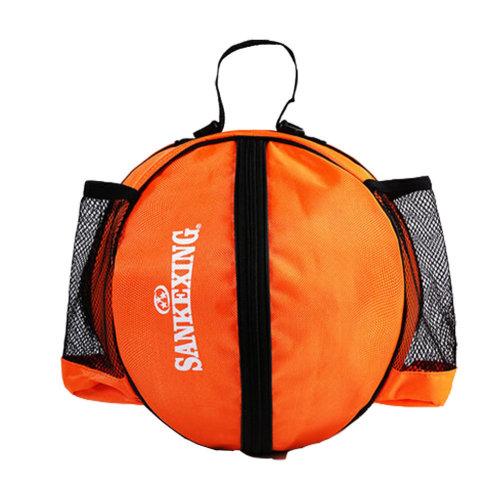 Sport Bag Basketball Soccer Volleyball Bowling Bag Carrier,Orange