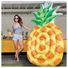 Intex 58761 Pineapple Mat Inflatable Floating Mattress