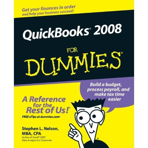 QuickBooks 2008 for Dummies (US Edition)
