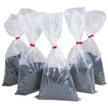 Rubbermaid BS25 Sand for Urns, Black, 5 5-lb. Bags/Carton