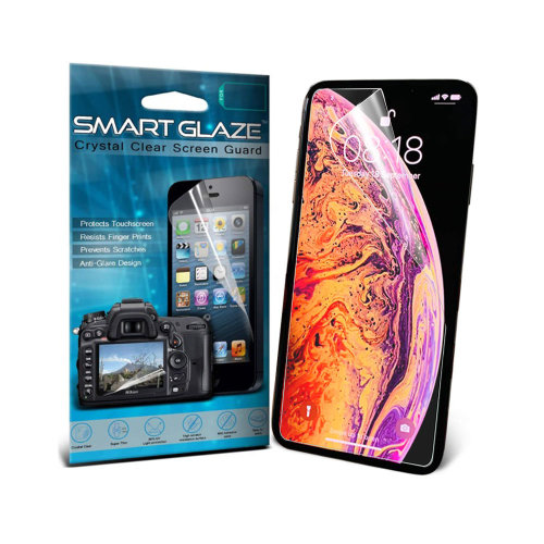 "i-Tronixs - HomTom S99 (5.5"") SMART GLAZE Screen Protectors with Polish Cloth (3 Pack), Clear"