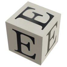 Wooden Block - Letter E