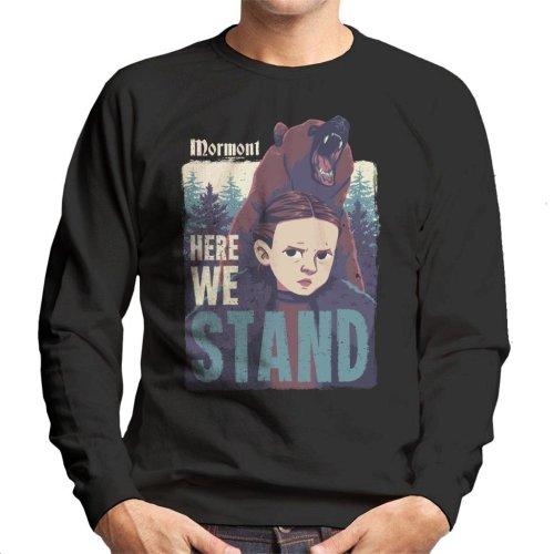 Lyanna Mormont Here We Stand Game Of Thrones Men's Sweatshirt