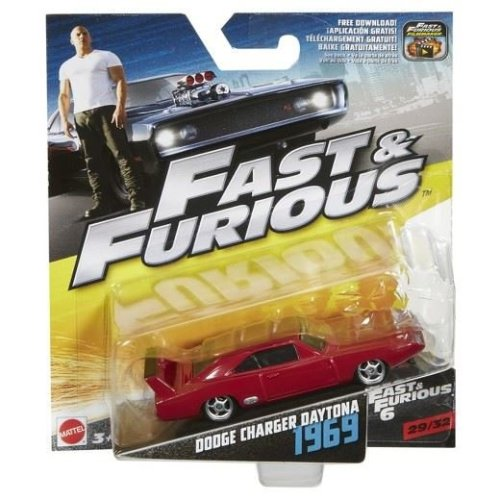 Fast and Furious - 1969 Dodge Charger Daytona 1:55 Scale Die Cast Car (29/32)