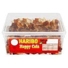 Haribo Happy Cola Bottles 960g 300 Sweets