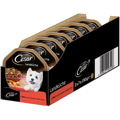 Cesar Dog Food Wet Food Country Kitchen 14Bowl (14x 150g)