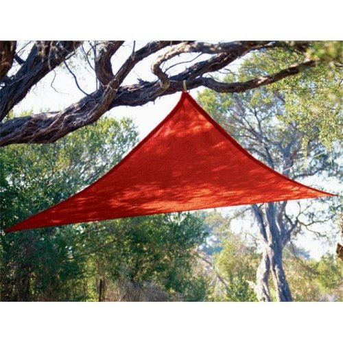 Coolaroo 799870434519 9 ft. 10 in. Triangle Red