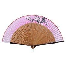 Elegant Hand Fan Portable Folding Fan Carved Handheld Fan Chinese Fans #15