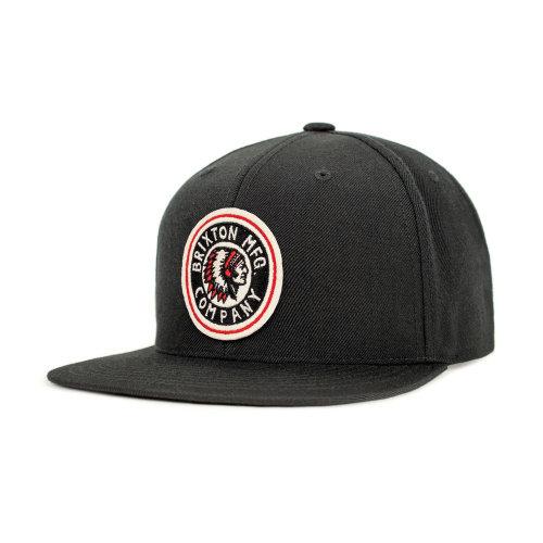 5cab30eda1f63 Brixton Rival Snapback Cap Black on OnBuy