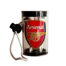 Arsenal F.c Official Golf Tee Shaker With Tees Rrp£7 - Football Club Sporting -  official arsenal football club golf tee shaker sporting goods