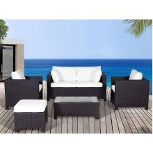 Resin Wicker Conversation Set - Outdoor Sofa Patio Furniture - MILANO