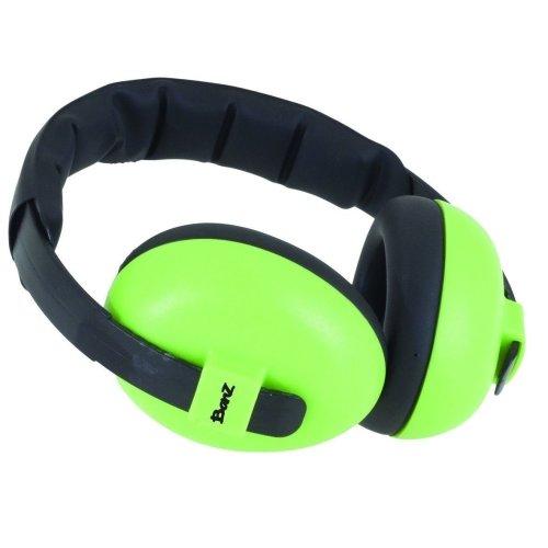 Baby Ear Defenders Lime Green