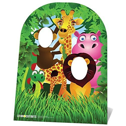 Star Cutouts Ltd Child Sized Jungle Stand-in