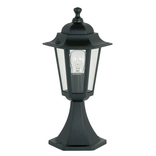 Traditional Style Black Aluminium Outdoor 6-Sided Post Top