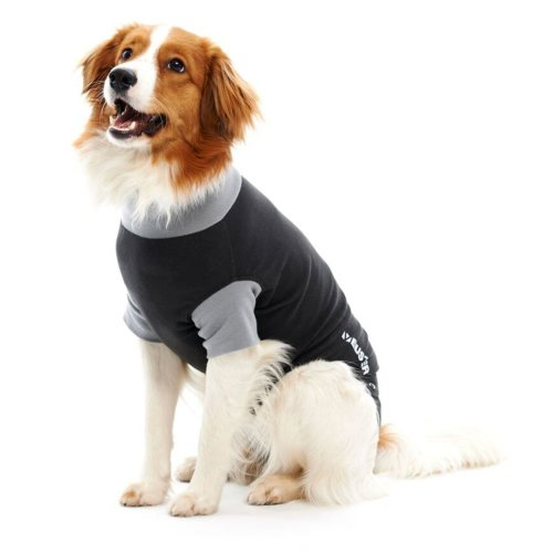 Buster Body Suit Easy Go For Dogs Black/grey L41cm Sml