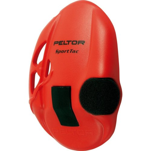 3M PELTOR SportTac Replacement Shells, Red, 210100-478-RD