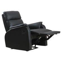 HOMCOM Reclining Chair Sofa Seat-Black