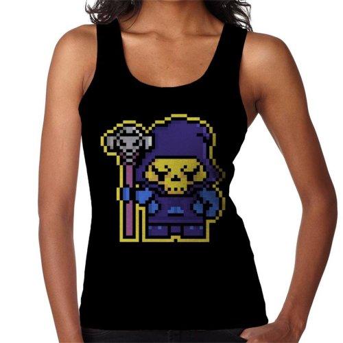 Pixel Skeletor Women's Vest