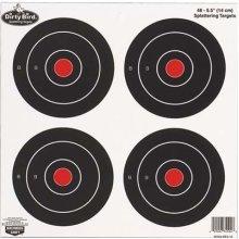 Birchwood Casey Dirty Bird Round Target (Pack of 12), 6-Inch