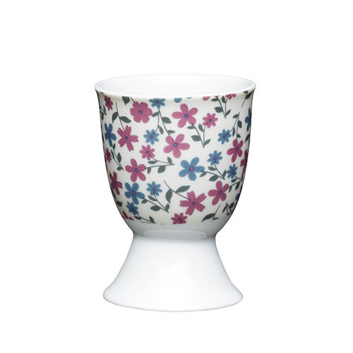 Kitchen Craft - Porcelain Egg Cup - Floral Daisy