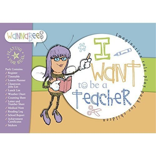 Pretend Teacher Set for Kids -- Complete Pretend Teacher Kit