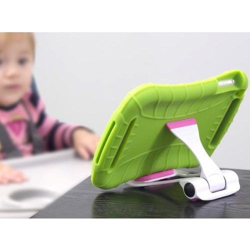 Portable Multi-angle Adjustable Green Color Universal Tablet/Smartphone Stand