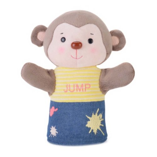 Fancy Toy Lovely Hand Puppets Early Learning Dolls Animal Puppets Monkey Model