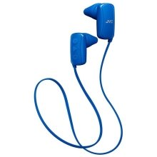 JVC Gumy Sports Bluetooth In Ear Headphone IPX2 rating - Blue (HAF250BTAE)