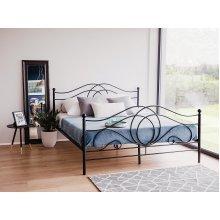 Metal Bed - King Size Bed Frame - LYRA