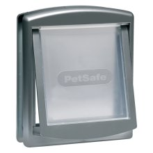 PetSafe 2-Way Pet Door 757 Medium 26.7x22.8 cm Silver 5022