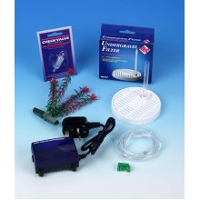 Fish Bowl Complete Filter Kit for Round Bowls, Medium