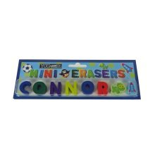 Childrens Mini Erasers - Connor