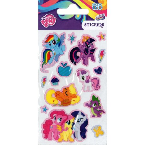 My Little Pony Rainbow Stickers - Set of 3 Sheets