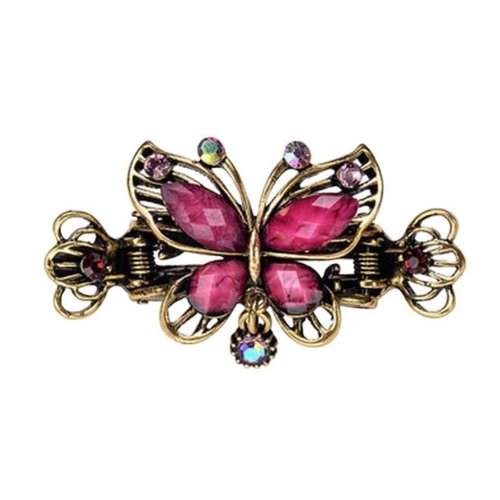Chinese Design Hair Claws/Clips Vintage Hair Barrettes, Butterfly Clips, B