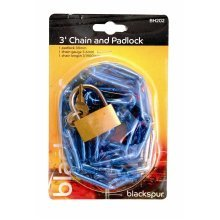 Blackspur BB-BH202 Chain and Padlock Security Lock