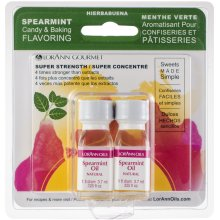 Candy & Baking Flavoring .125oz 2/Pkg-Spearmint Oil
