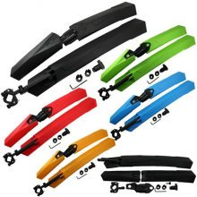 Bike Bicycle Mudguards Mountain Mtb Cycling Fender Front & Rear Mud Guard Set