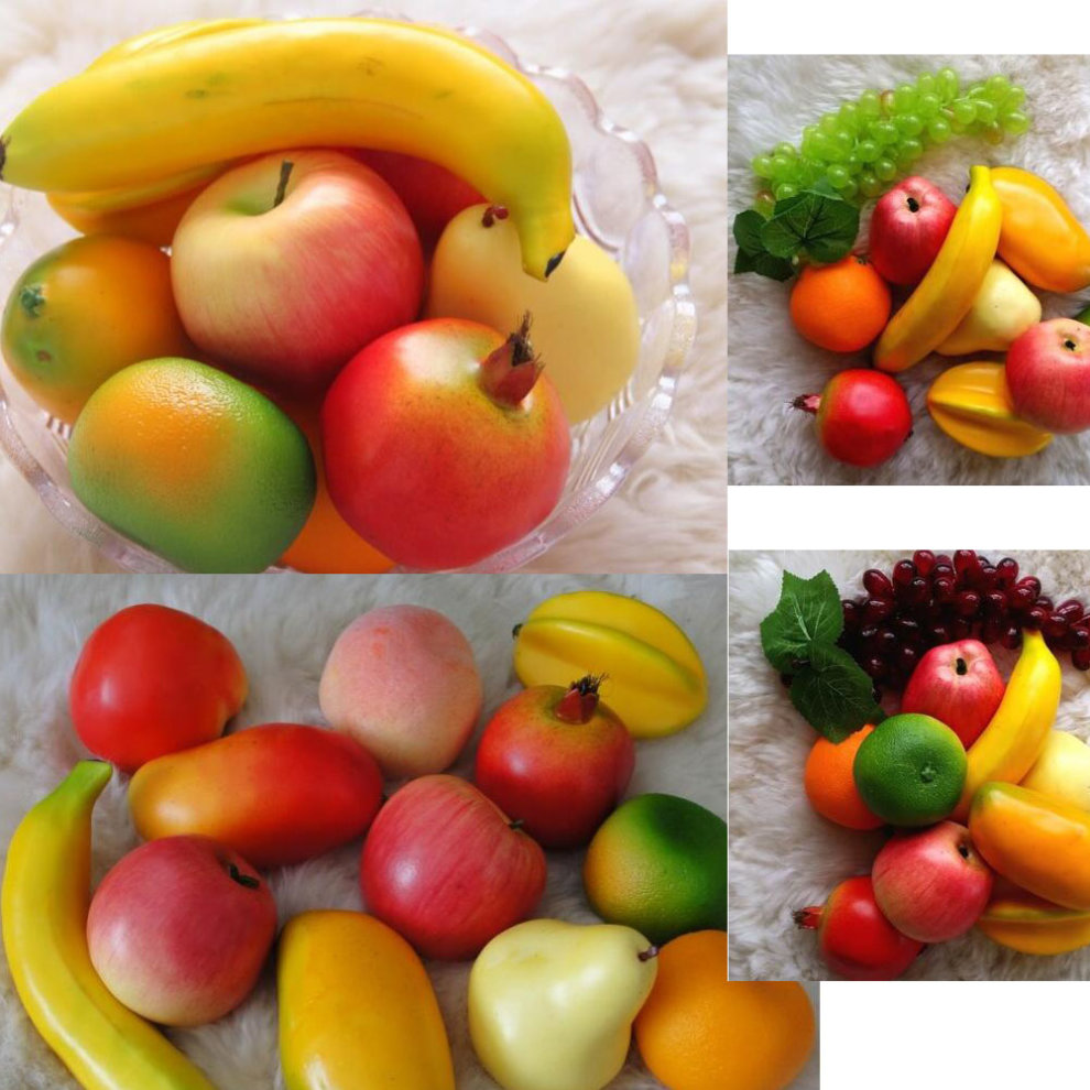 9c4aedd4a31b ... Set of 2 Artificial Fruits Simulation Mango Party Decoration - 1. >